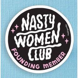 Nasty women  Sticker