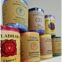 Mini Chakra Candles