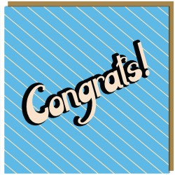 Greeting Card - Congrats