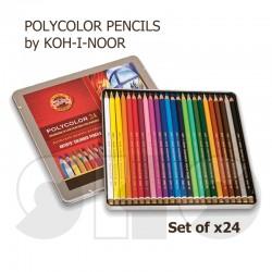 Coloured Pencils - x24