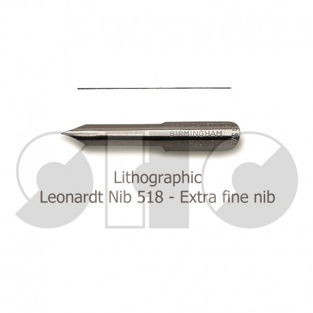 Lithographic Nibs