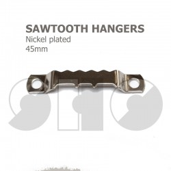 Saw-tooth picture hooks