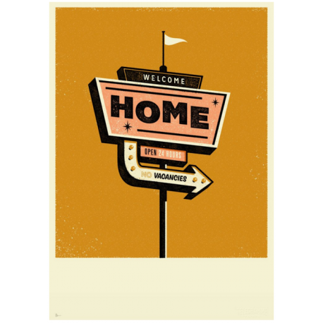 Welcome Home - Print